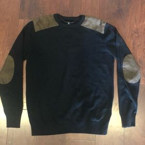 Forever 21 Sweater W/ Elbow Patches - Sz M - Mens